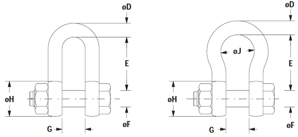 Shackles Specification