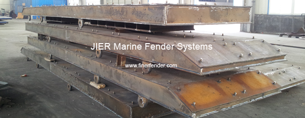 Frontal Frame, the most important component of Marine Fenders System