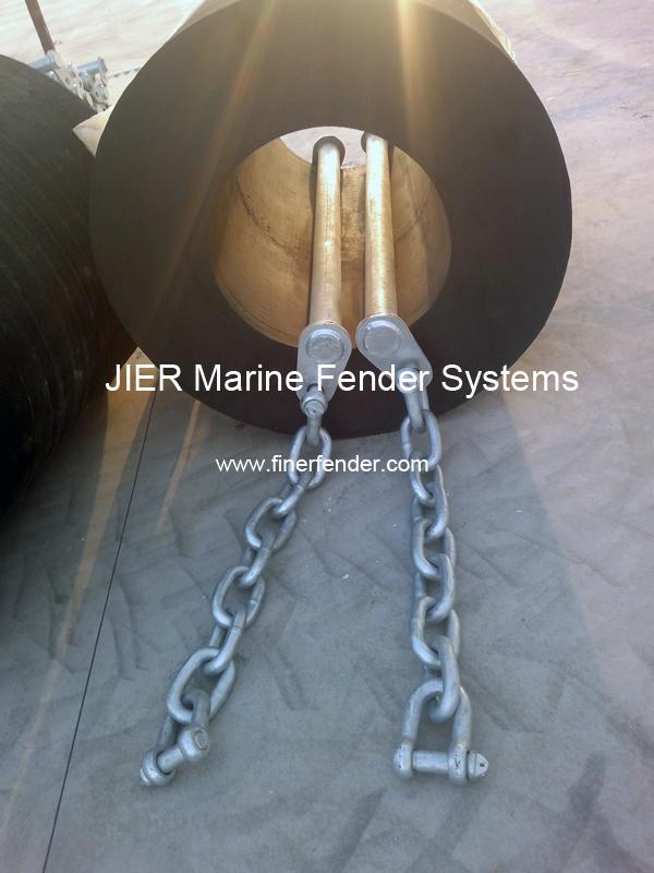 Steel Bars, Accessories of Cylindrical Marine Fenders, JIER