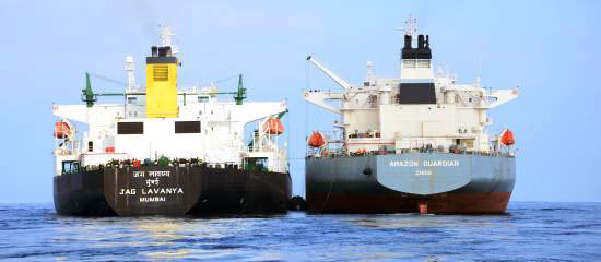 Ship-to-ship transfer operations