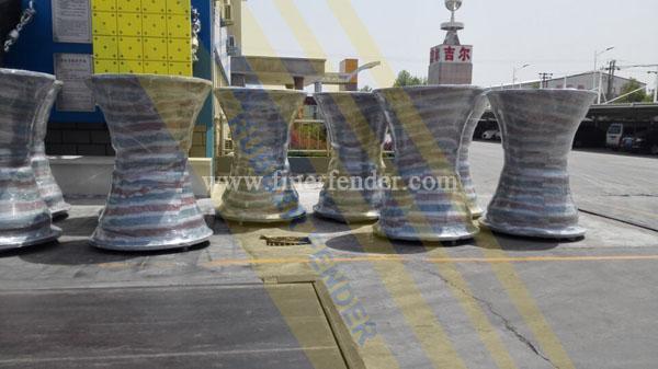jier super cone fenders, Croatia Project, JIER Rubber Fender Factory
