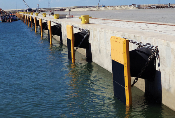Fenders Are Used In Ports And Harbors All Over The World